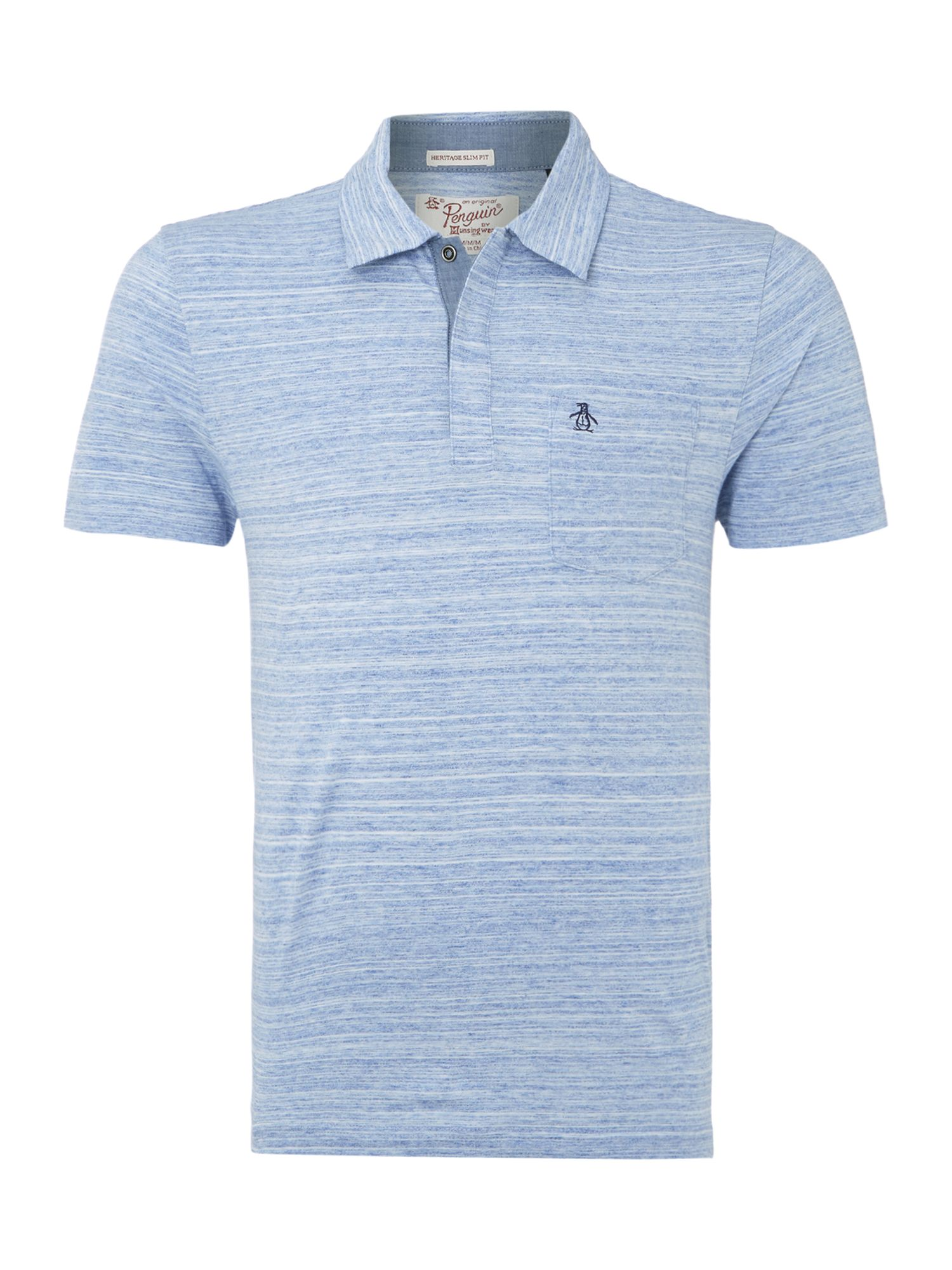 Longshore spacedyed polo shirt