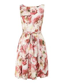 Floral floaty dress