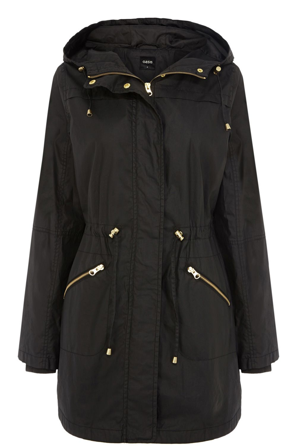 Lucy lightweight wax parka