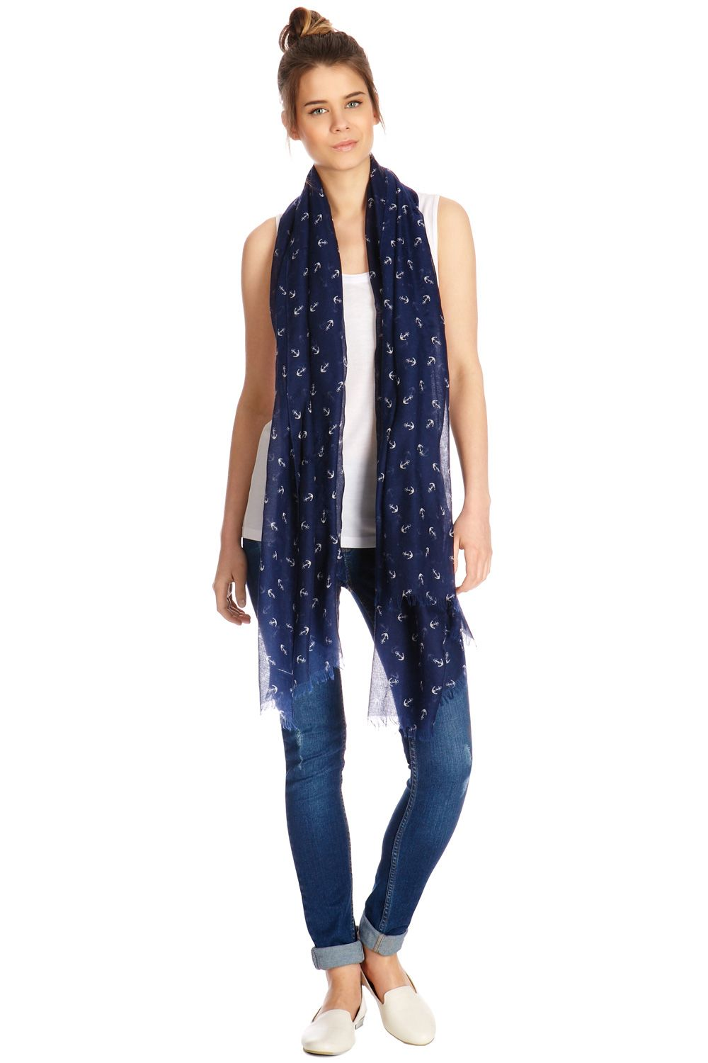 Anchor conversational scarf