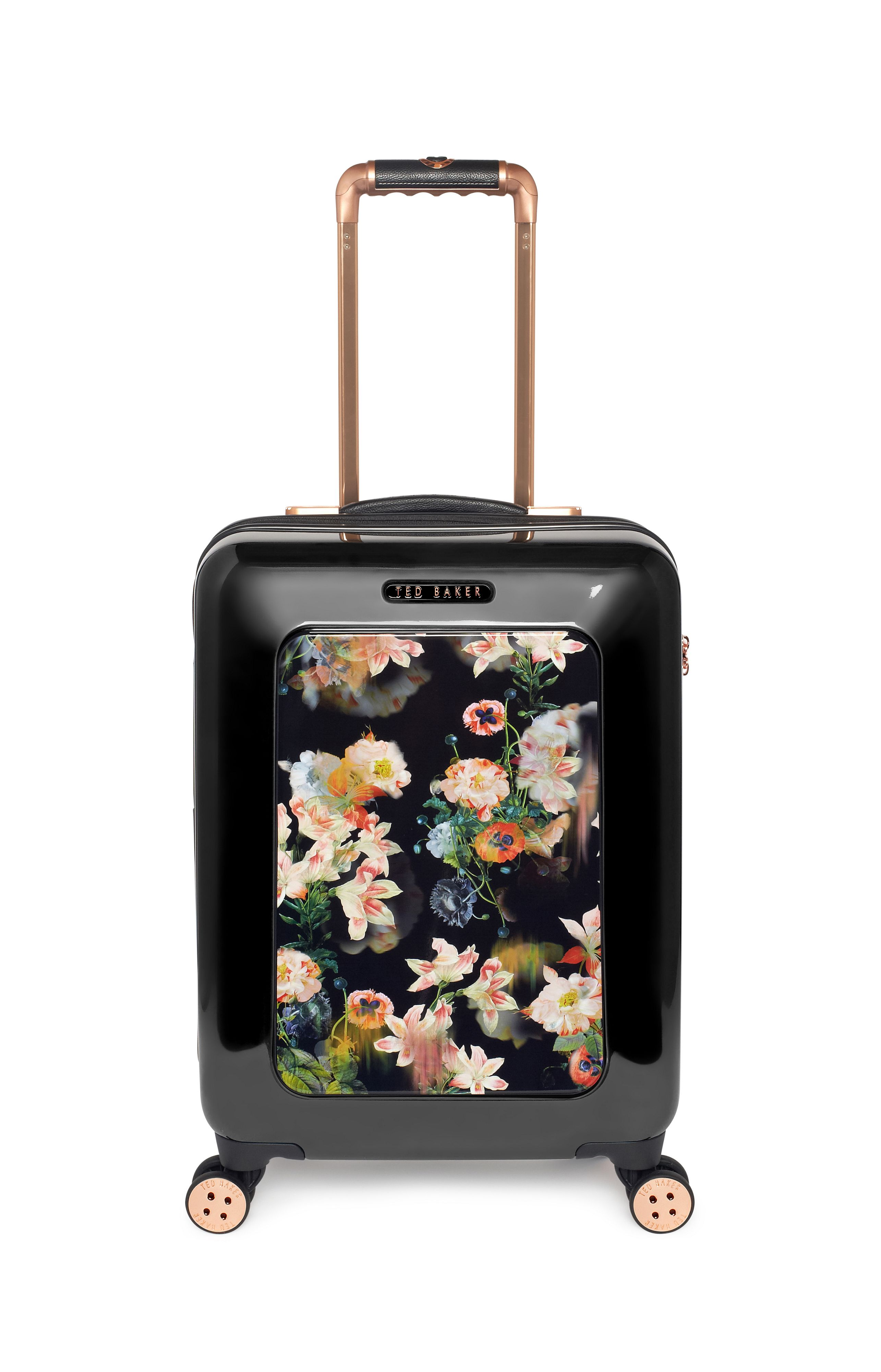 Opulent bloom black cabin rollercase