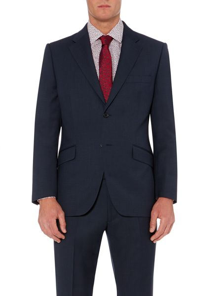 Howick Tailored Berkely end on end notch lapel suit jacket
