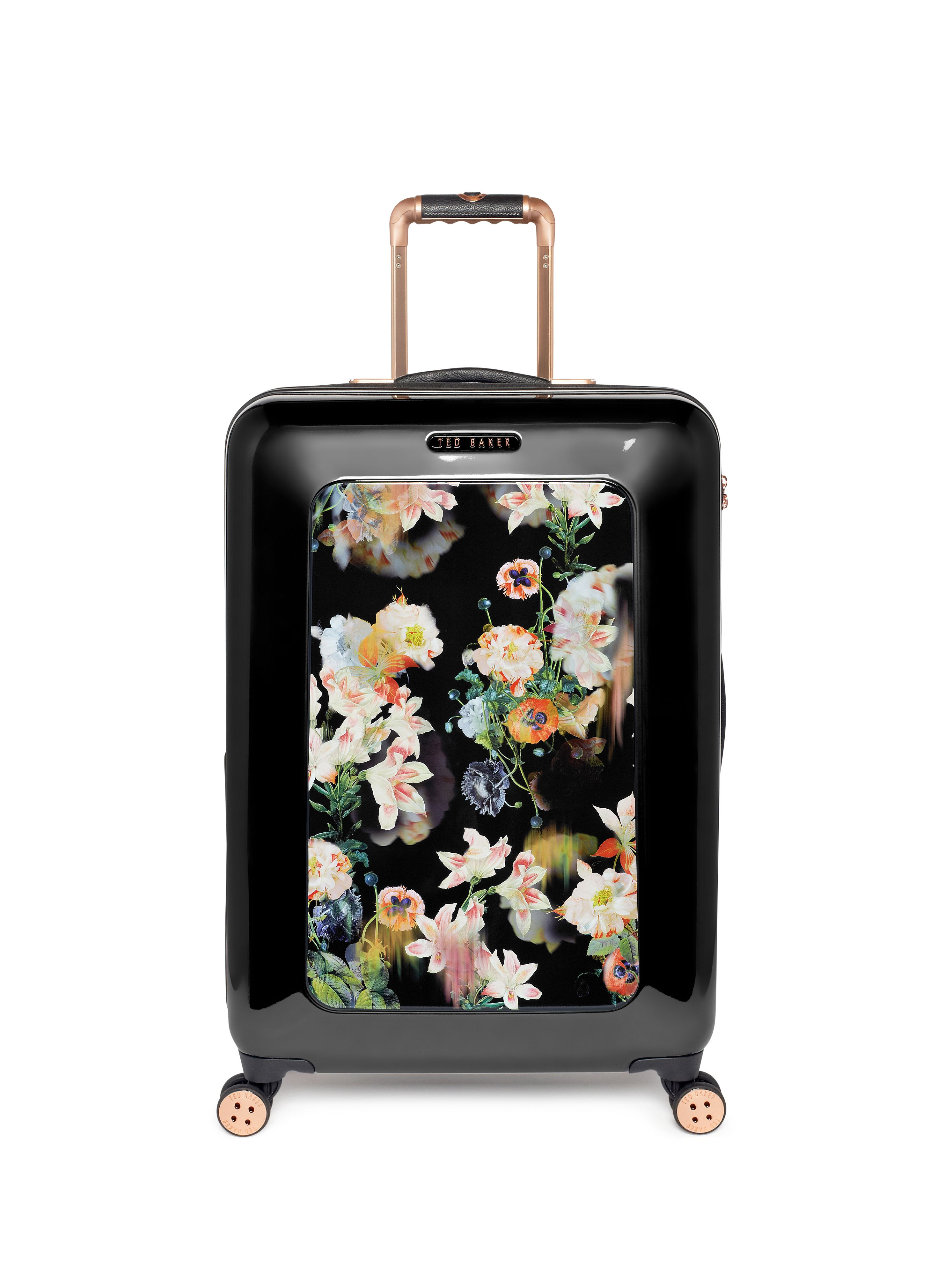 Opulent bloom black medium rollercase