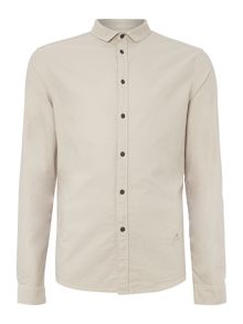 Darwin yoke detail long sleeve shirt