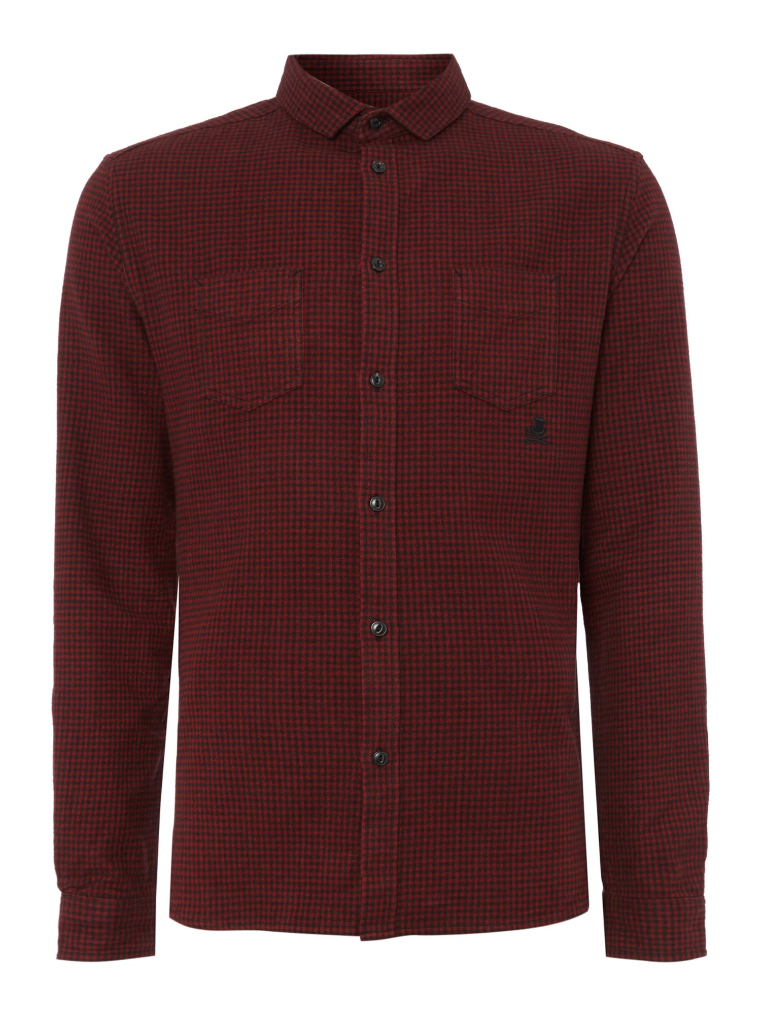 Marx mini check shirt