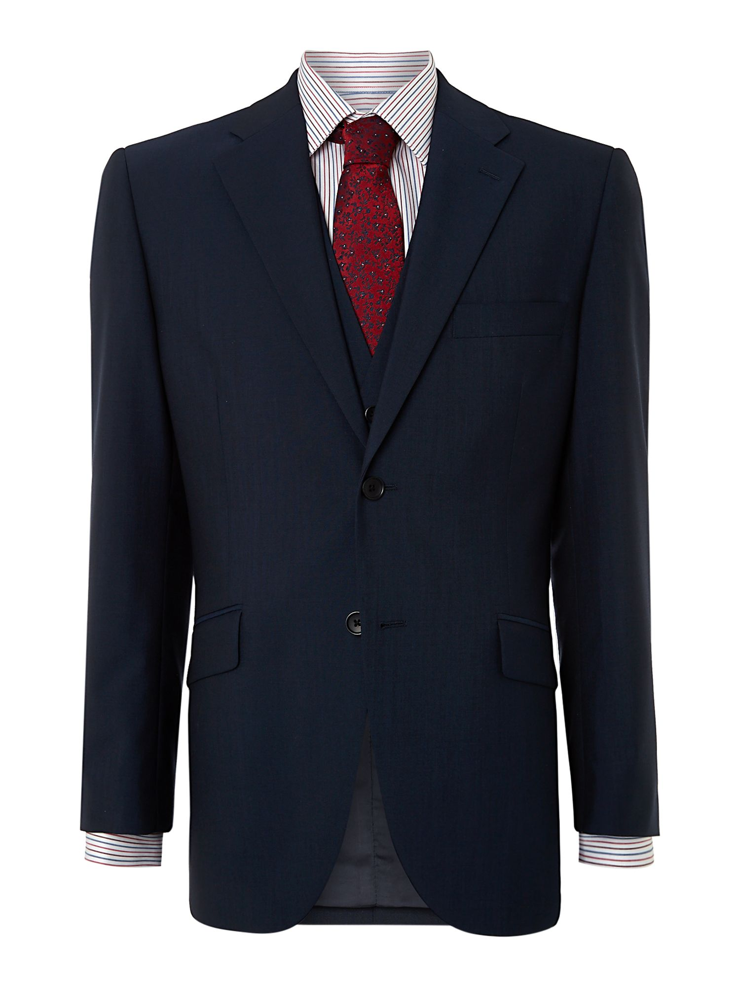 Draper panama notch lapel suit jacket