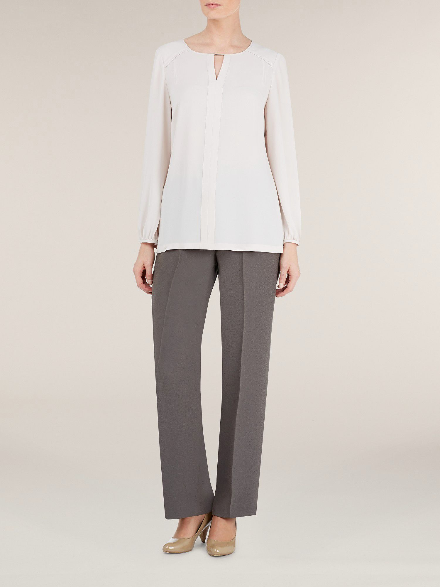 Espresso tailored trousers