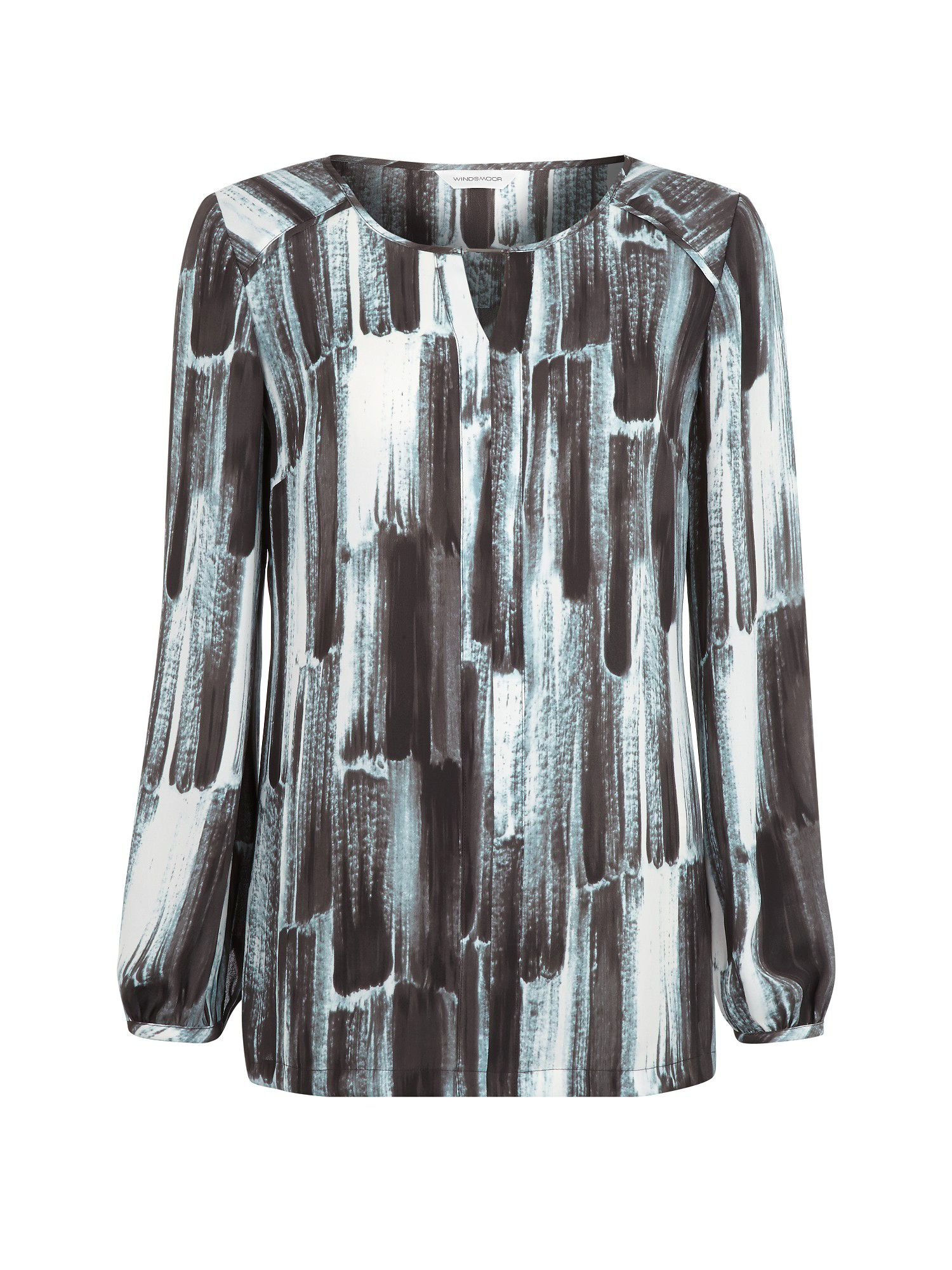 Risley printed tunic blouse