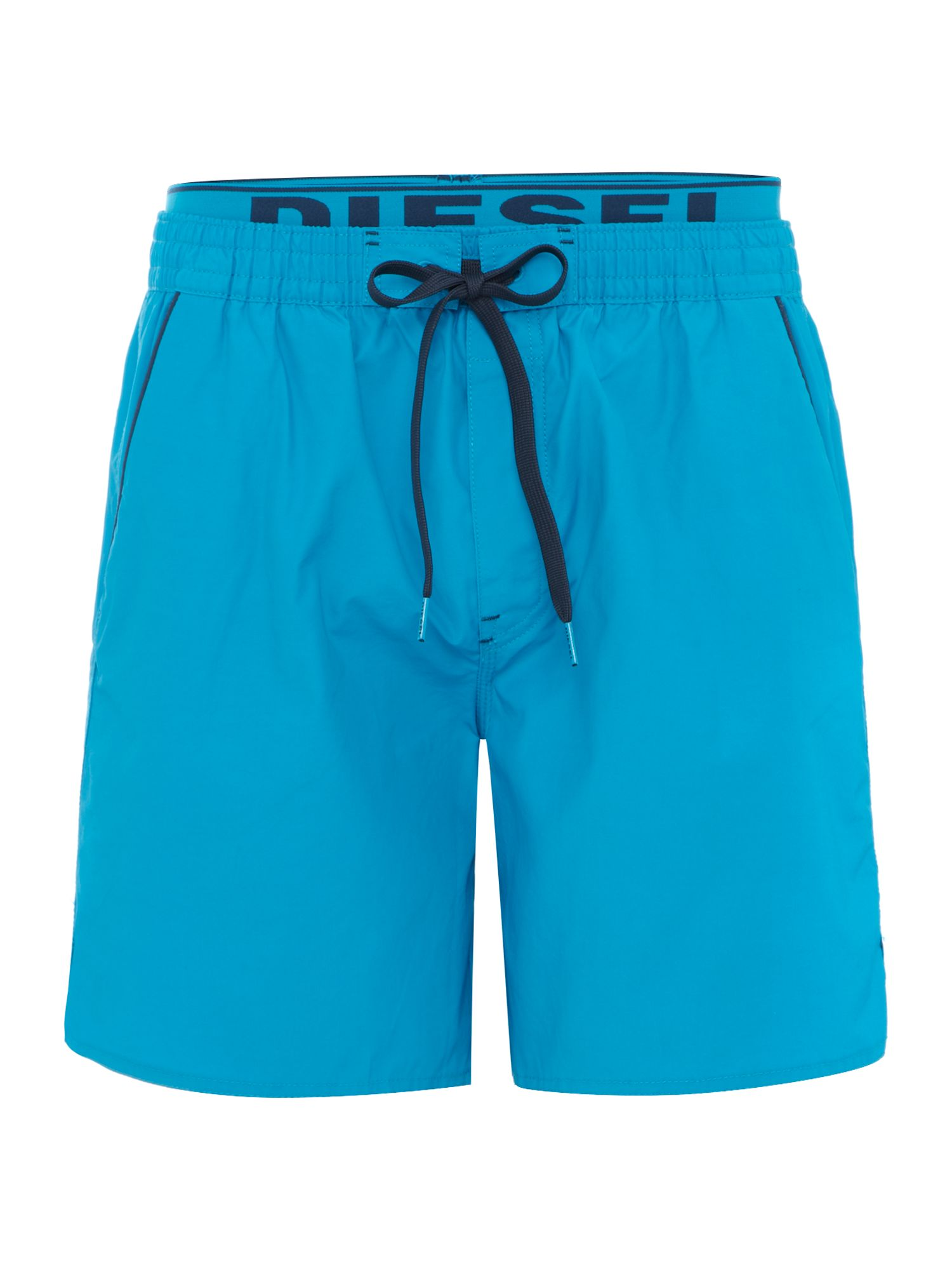 Mid length swim short with waistband