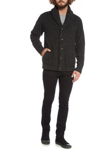 Whiskey Shawl Neck Cardigan