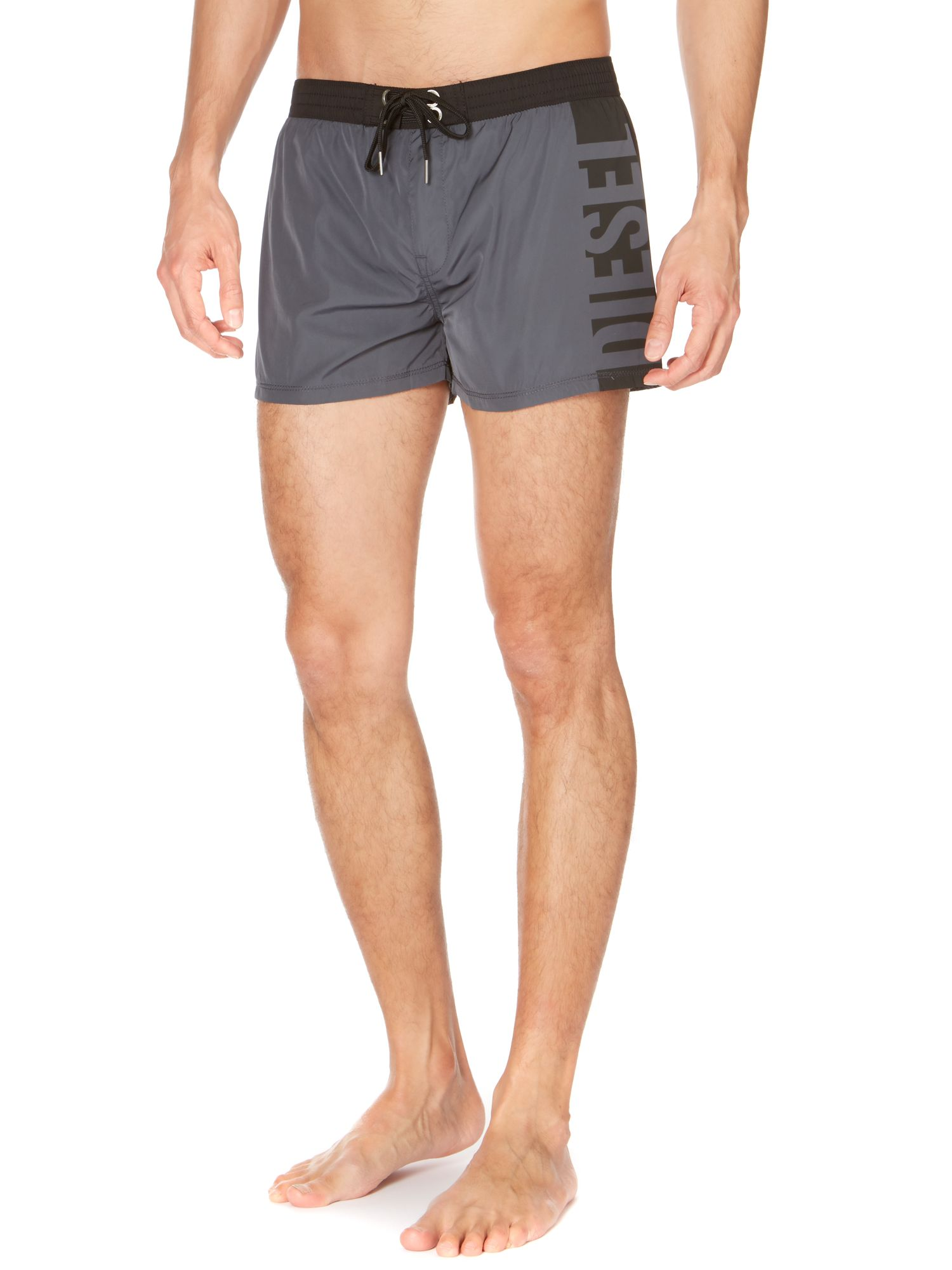 Side logo swim short