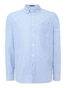 thetford button down chambray shirt