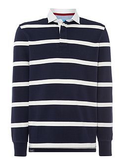 Hockney Striped Rugby Shirt