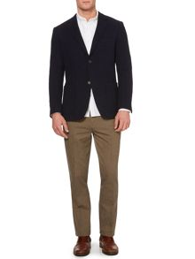 brunswick knitted blazer