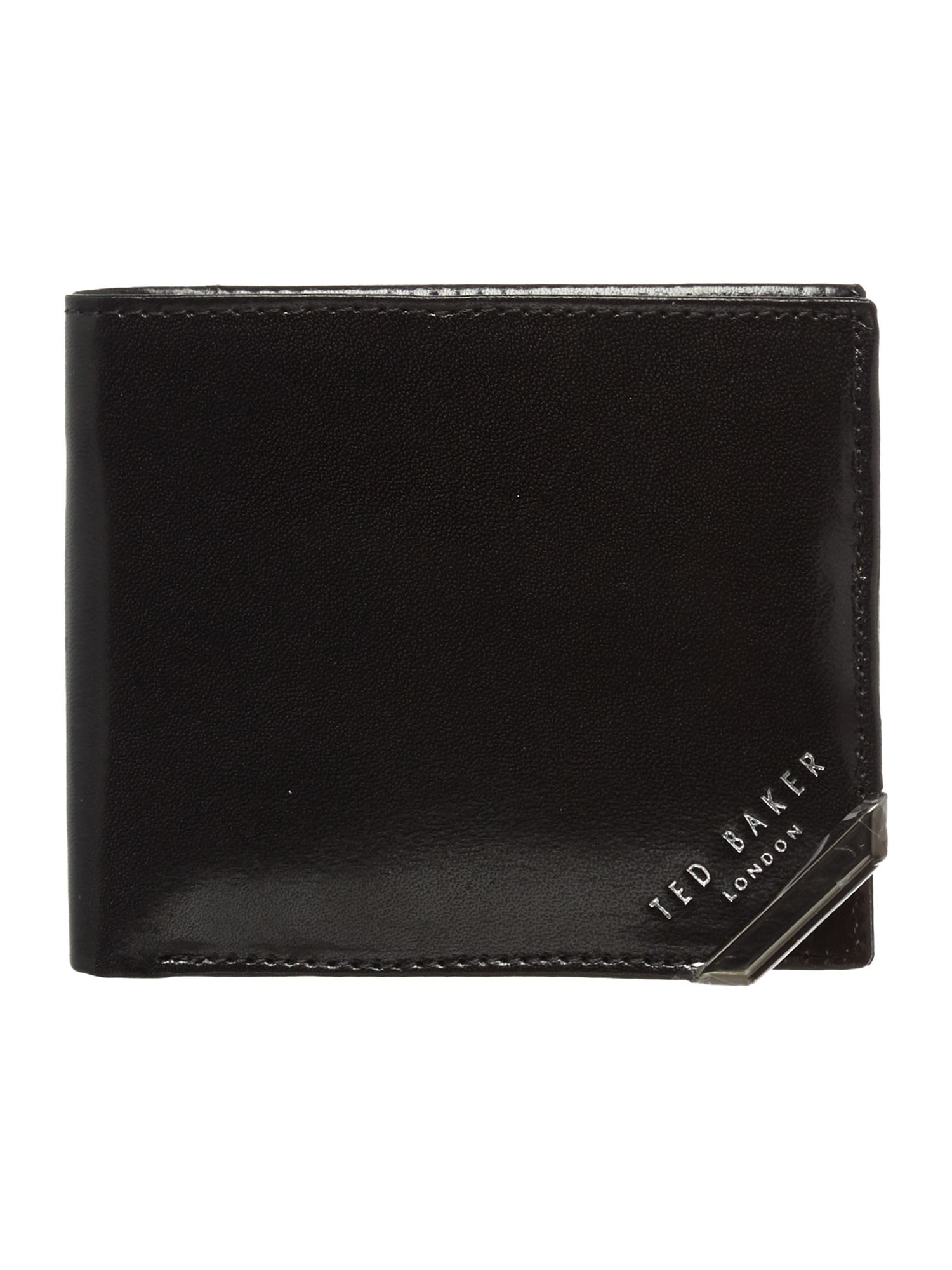 Metal corner coin wallet