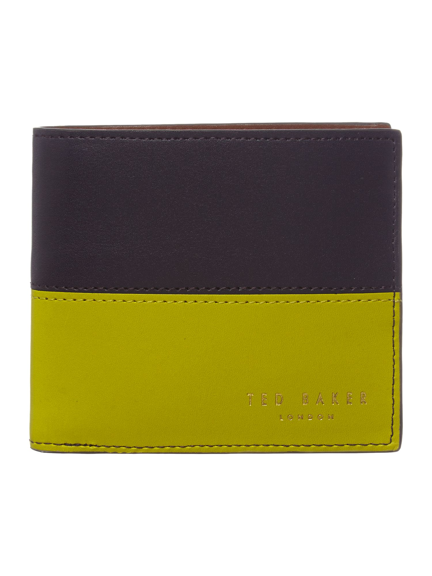 Colour block coin wallet