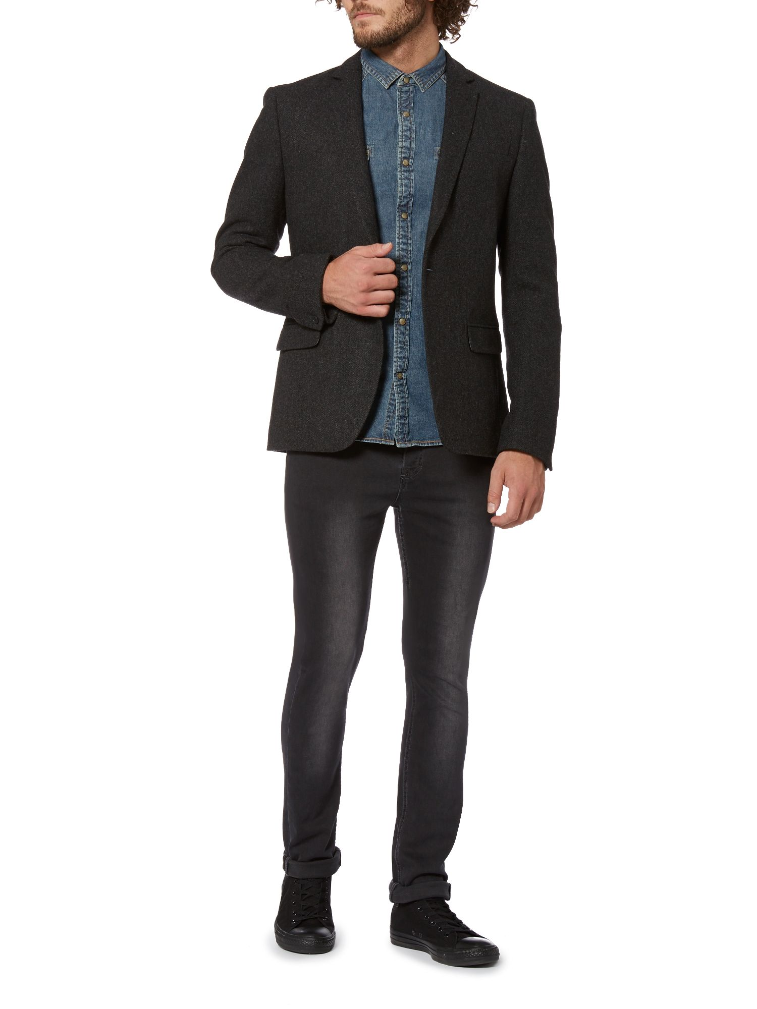 Wilbur structured blazer