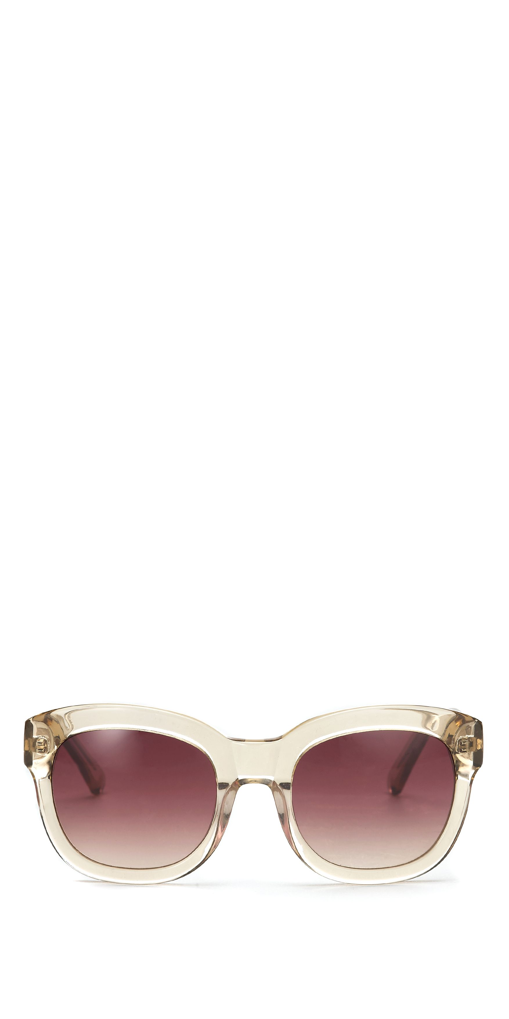 Ali heavy frame sunglasses