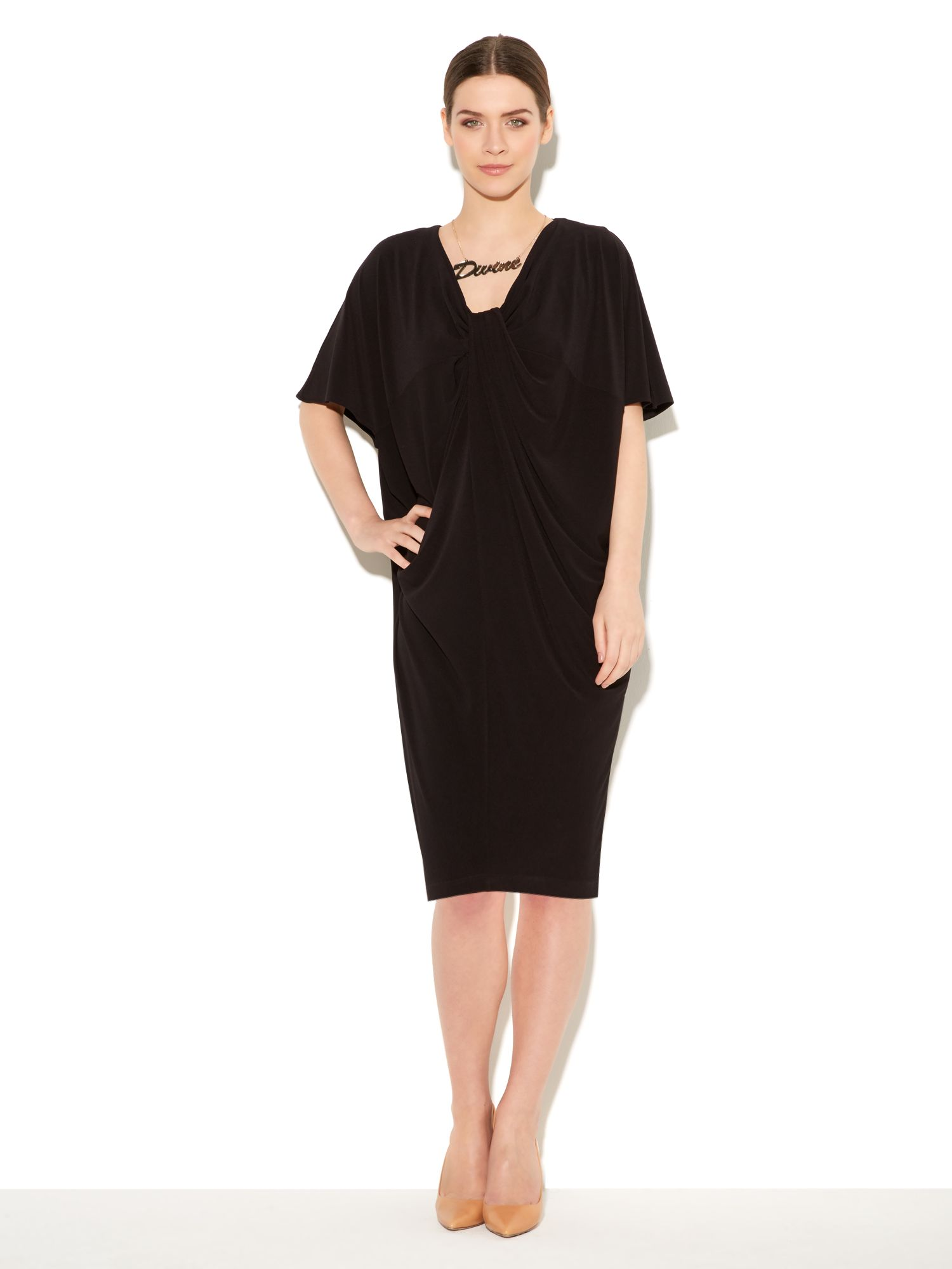Tuck Cocoon Dress
