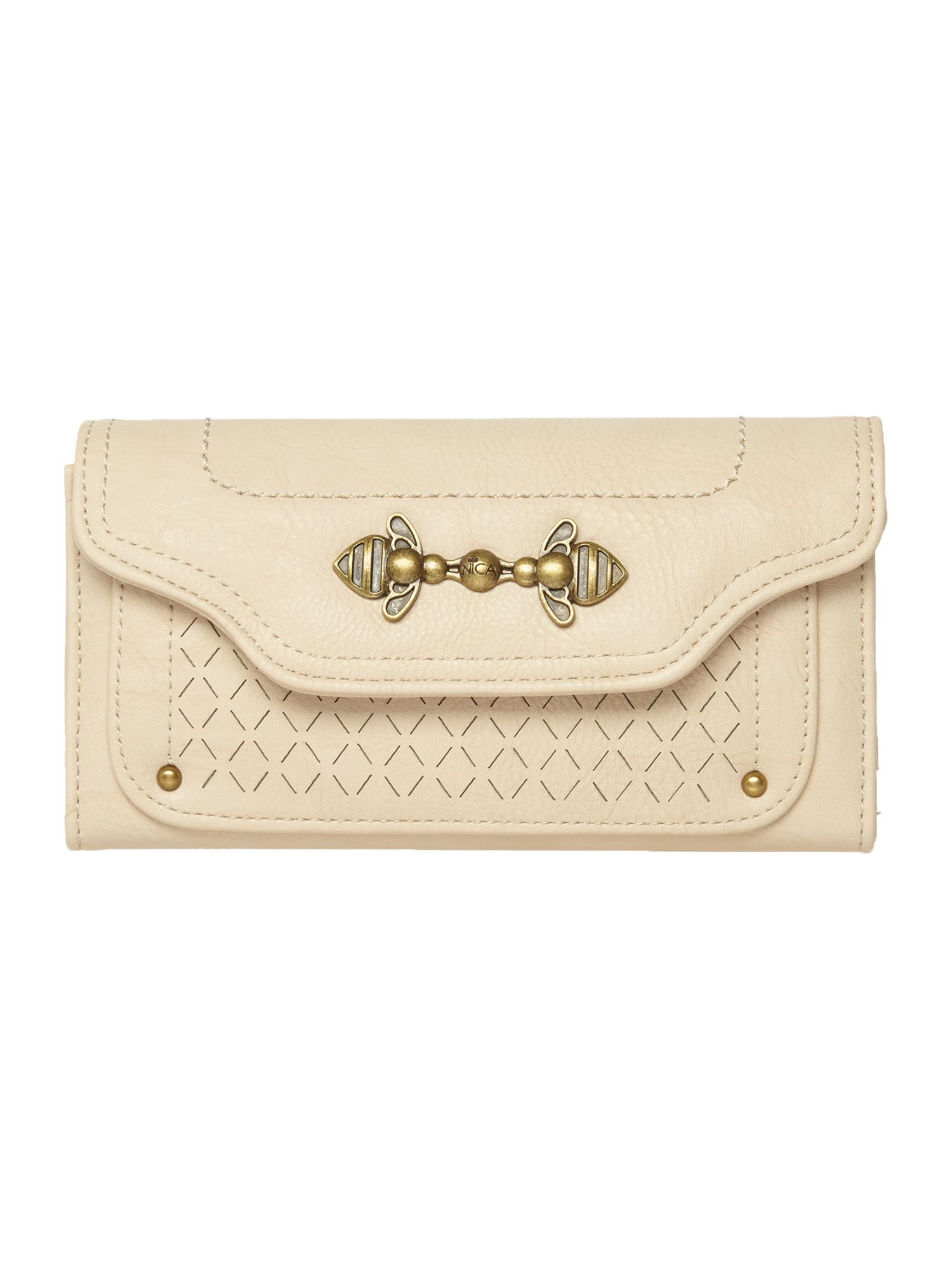 Judy neutral large flap over purse
