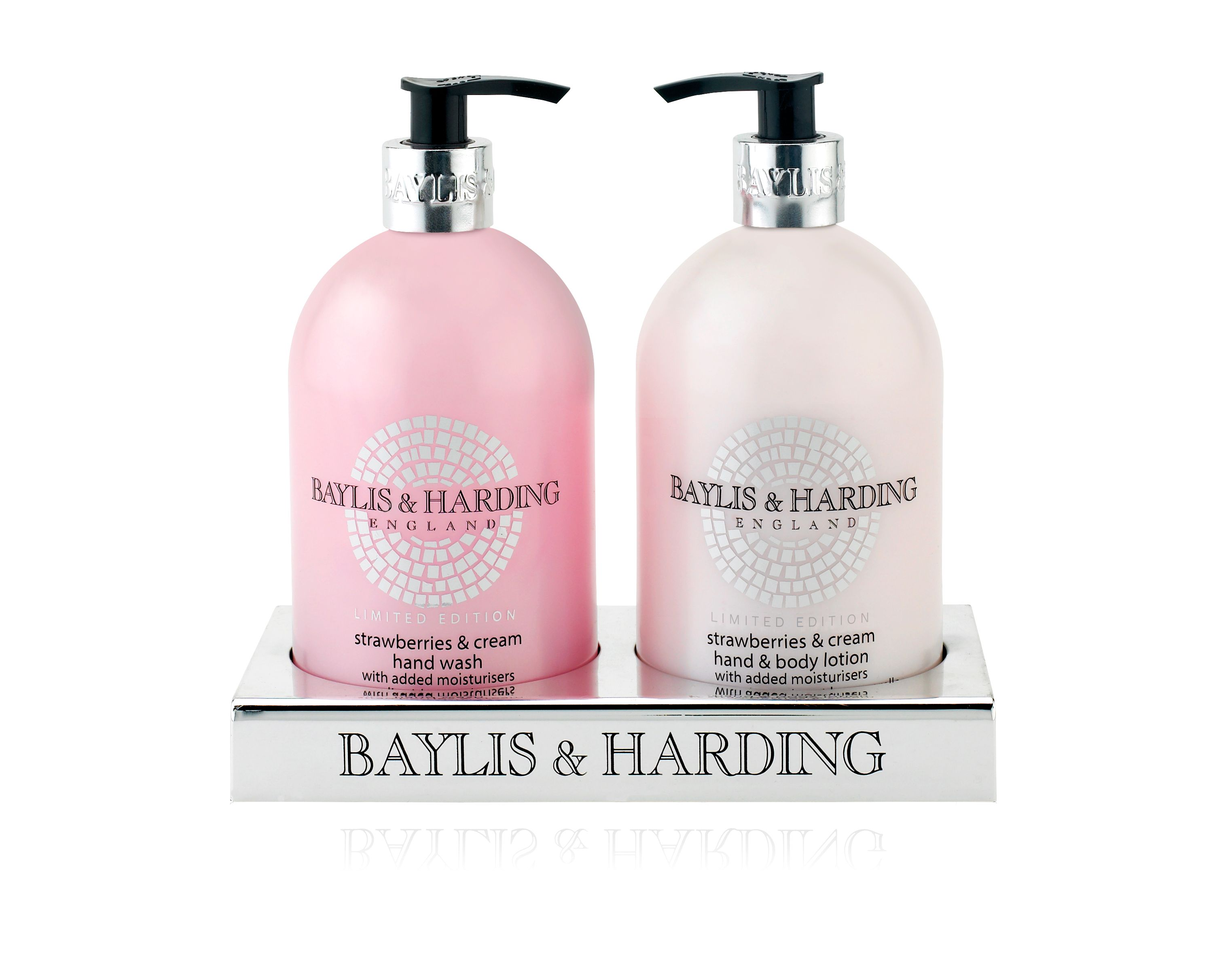 Strawberries & Cream Hand Wash & Lotion Set
