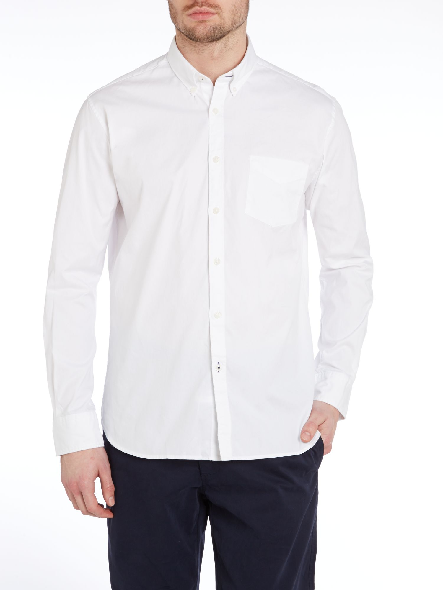 Oxford casual long sleeve shirt