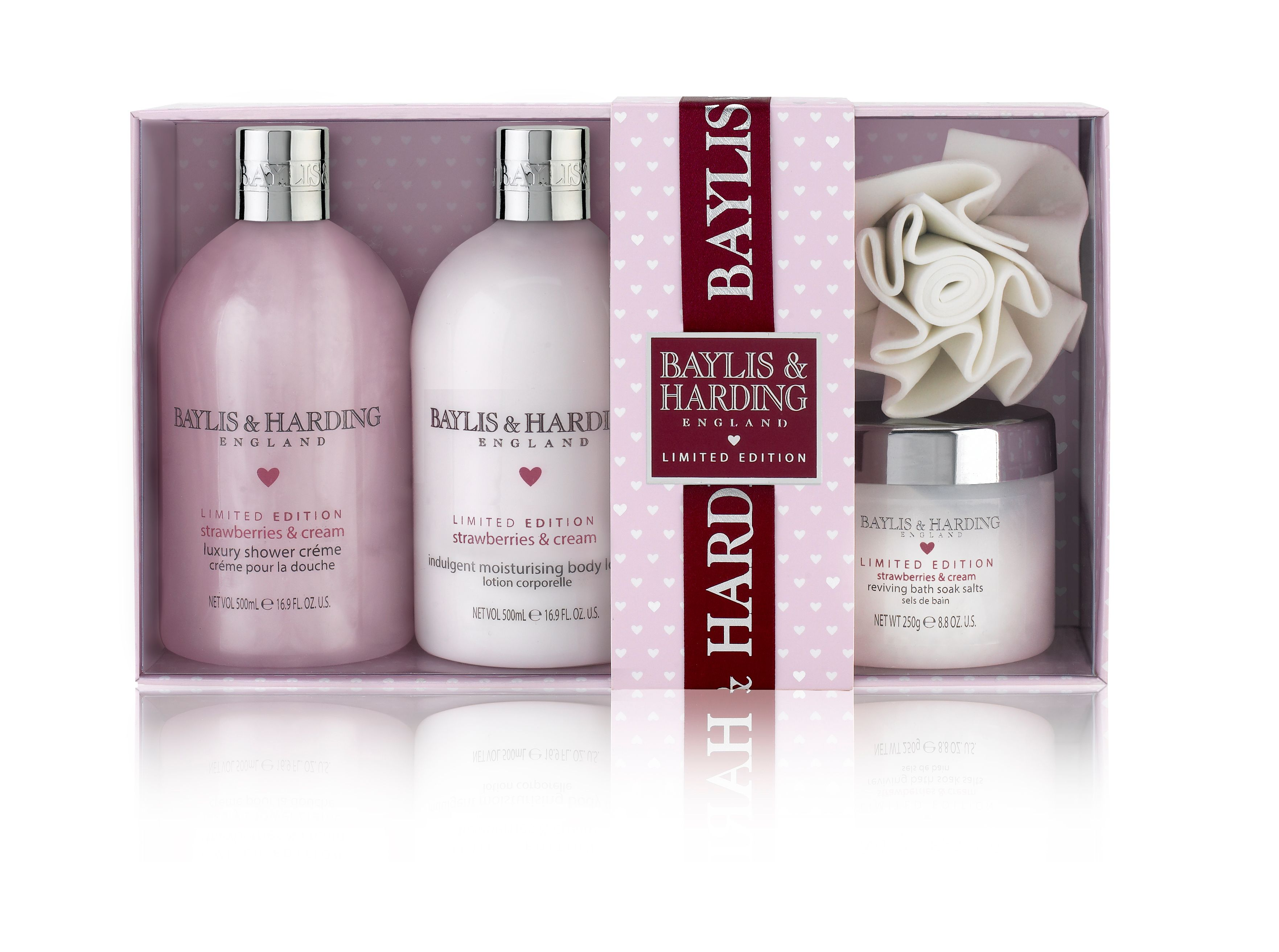 Strawberries & Cream Perfect Pamper Kit