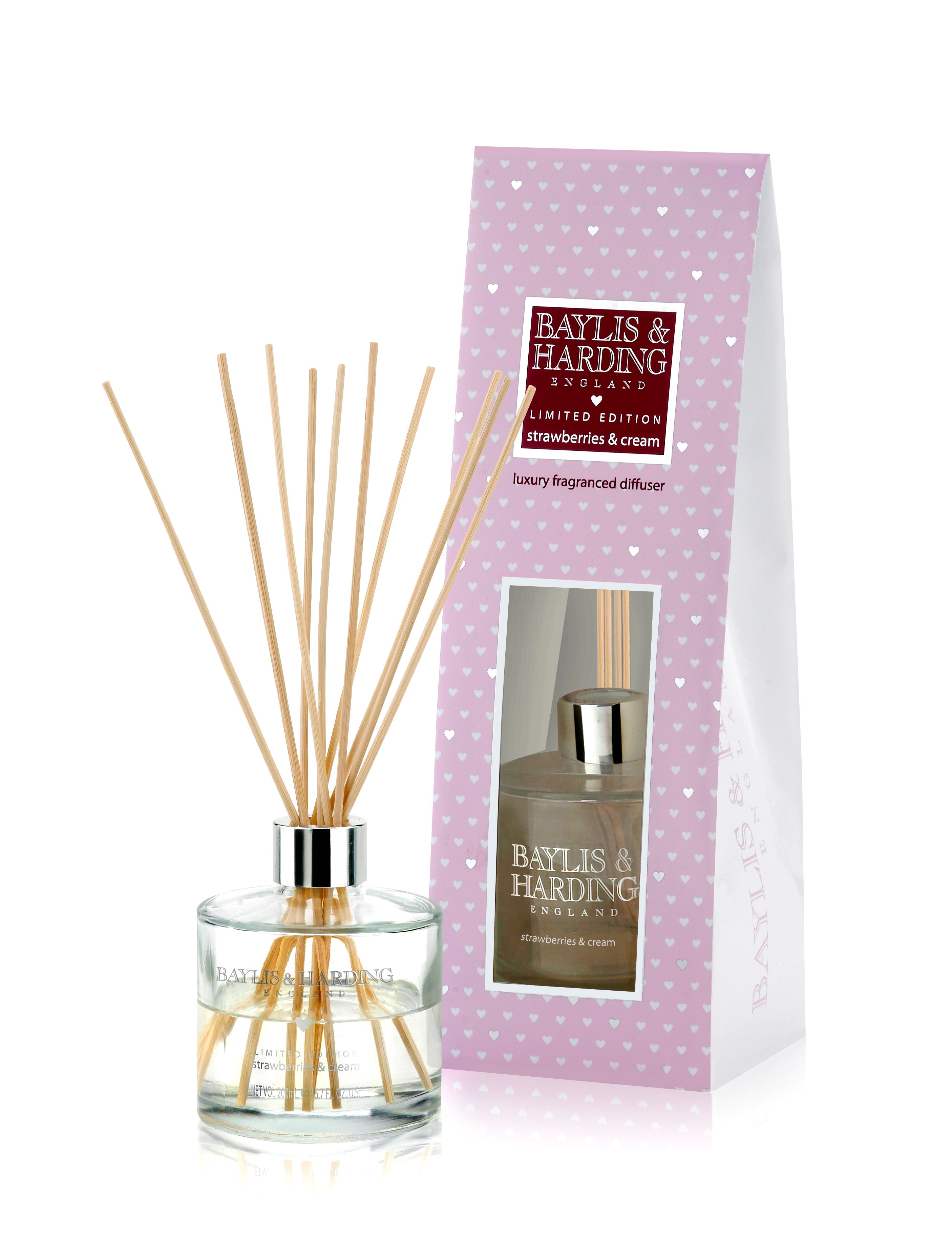 Strawberries & Cream  Diffuser Set