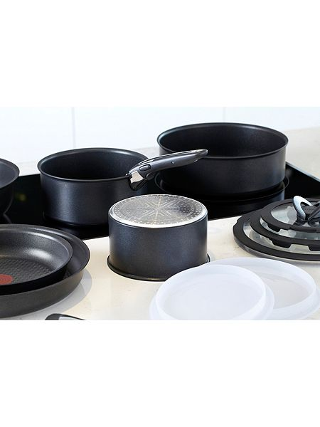 tefal ingenio induction complete 13 piece pan set house. Black Bedroom Furniture Sets. Home Design Ideas