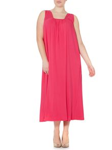 Plus Size Oculare scoop neck maxi dress