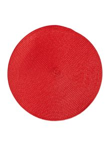 Oslo red placemats set of 4
