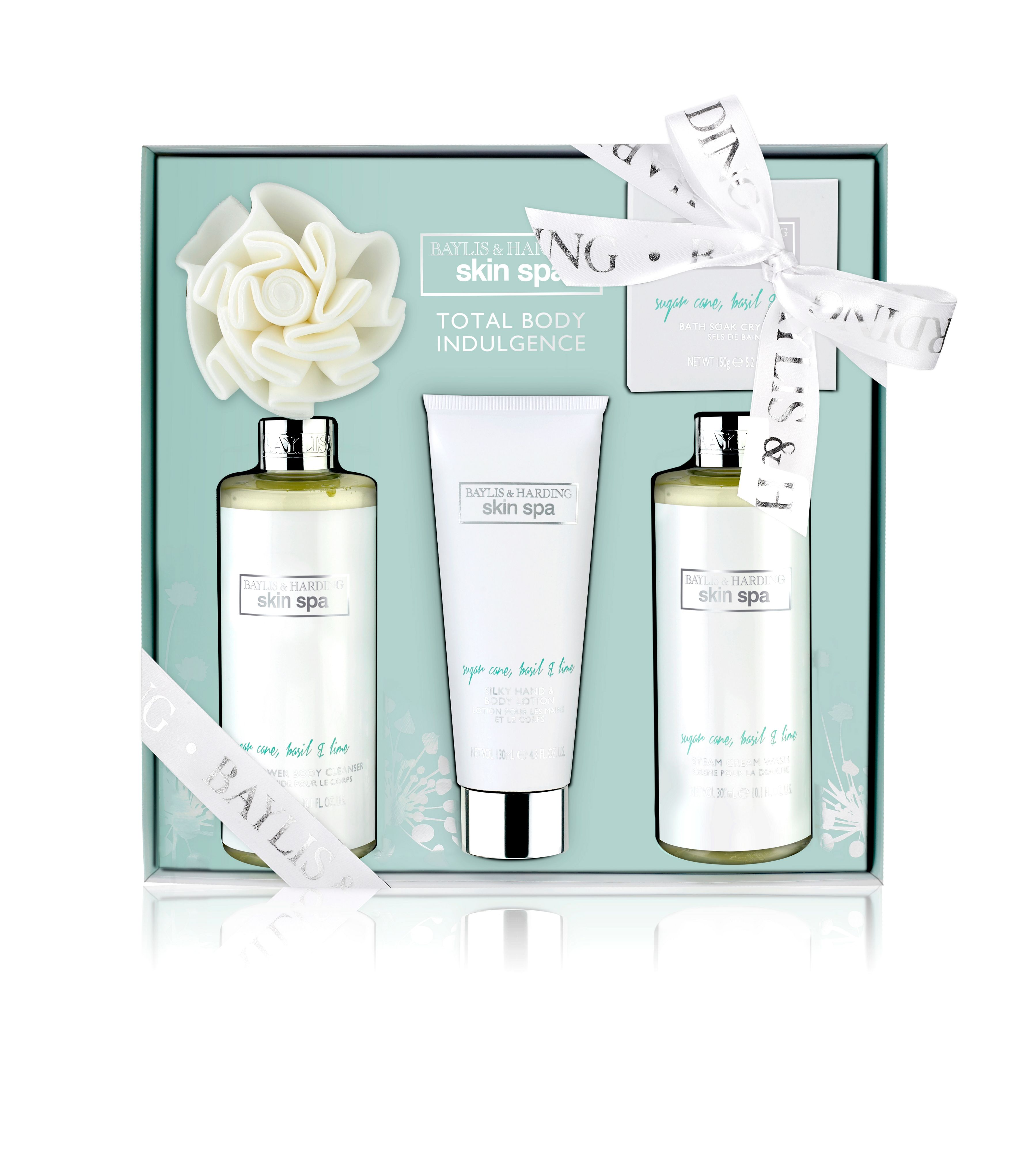 Sugar Cane, Basil & Lime Body Indulgence Set