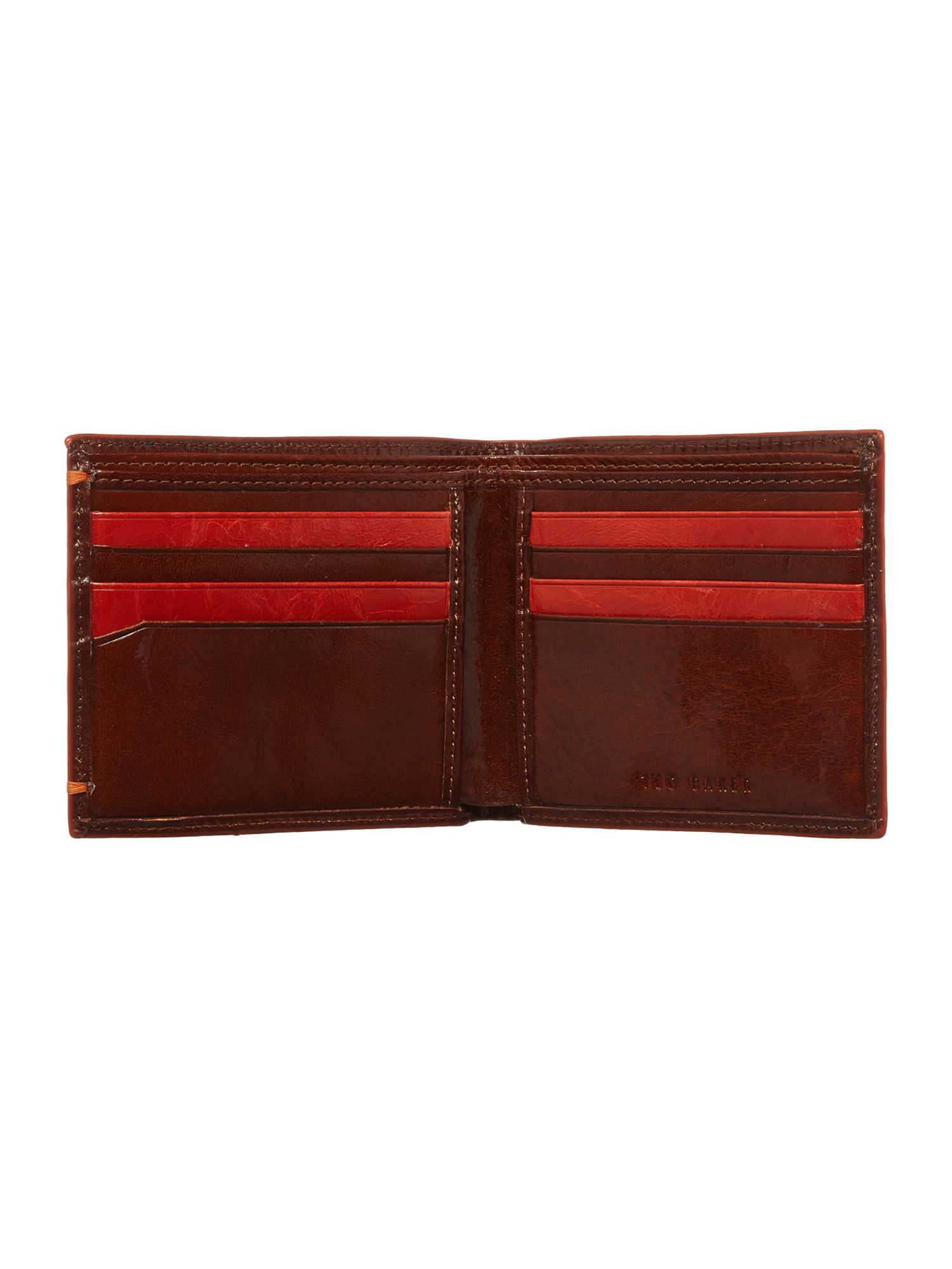 Edge paint bifold wallet
