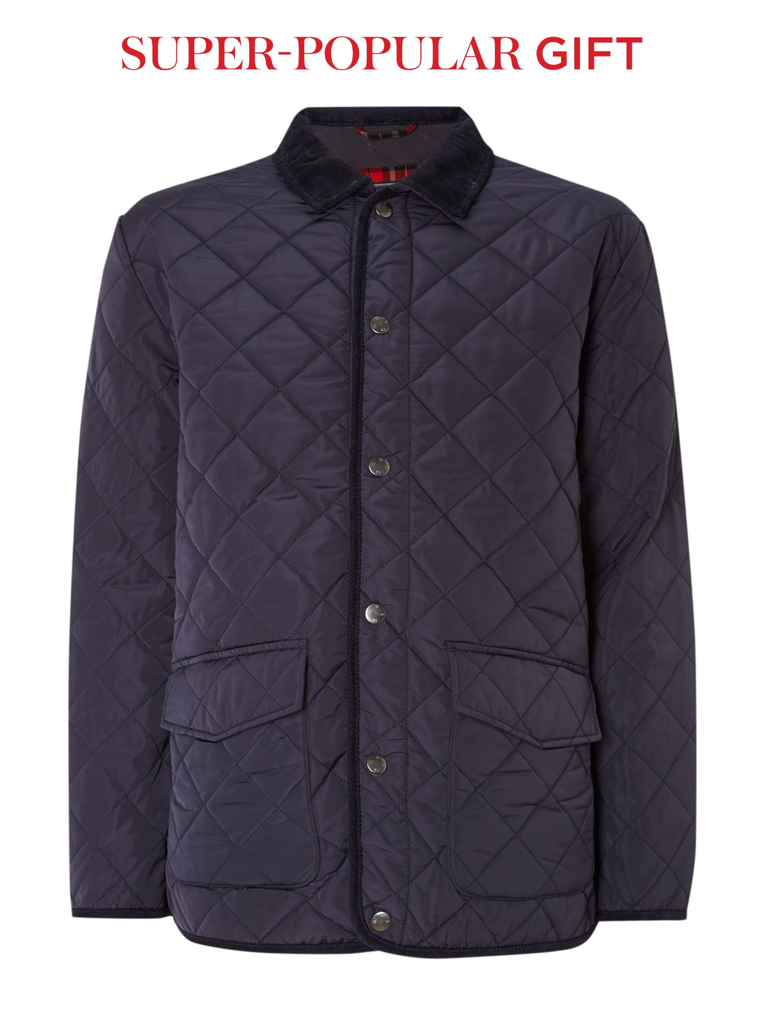 quilted pembroke jacket