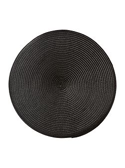 Oslo black placemats set of 4