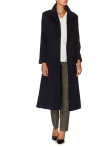 Cashmere blend riding coat