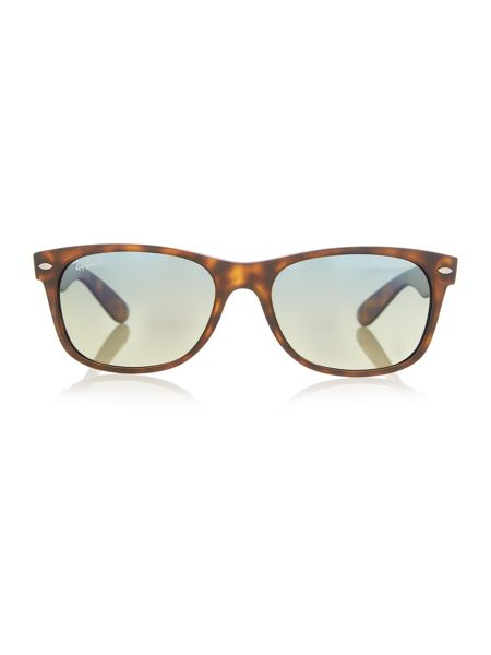 Ray-Ban Rb2132 new wayfarer male brown square sunglasses