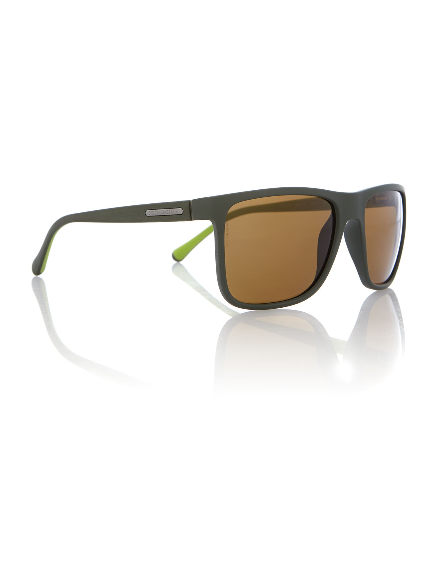 Dg6086 men`s square sunglasses