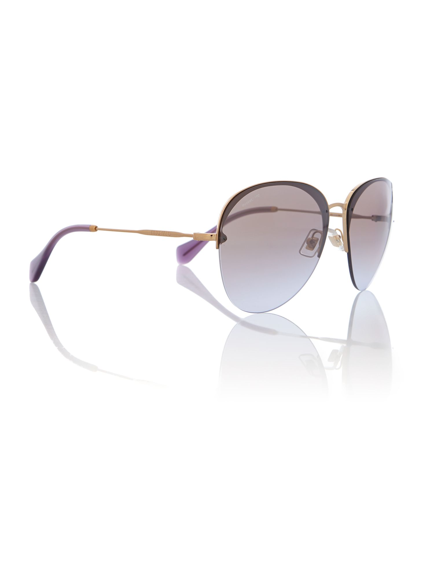 Mu 53ps ladies pilot sunglasses