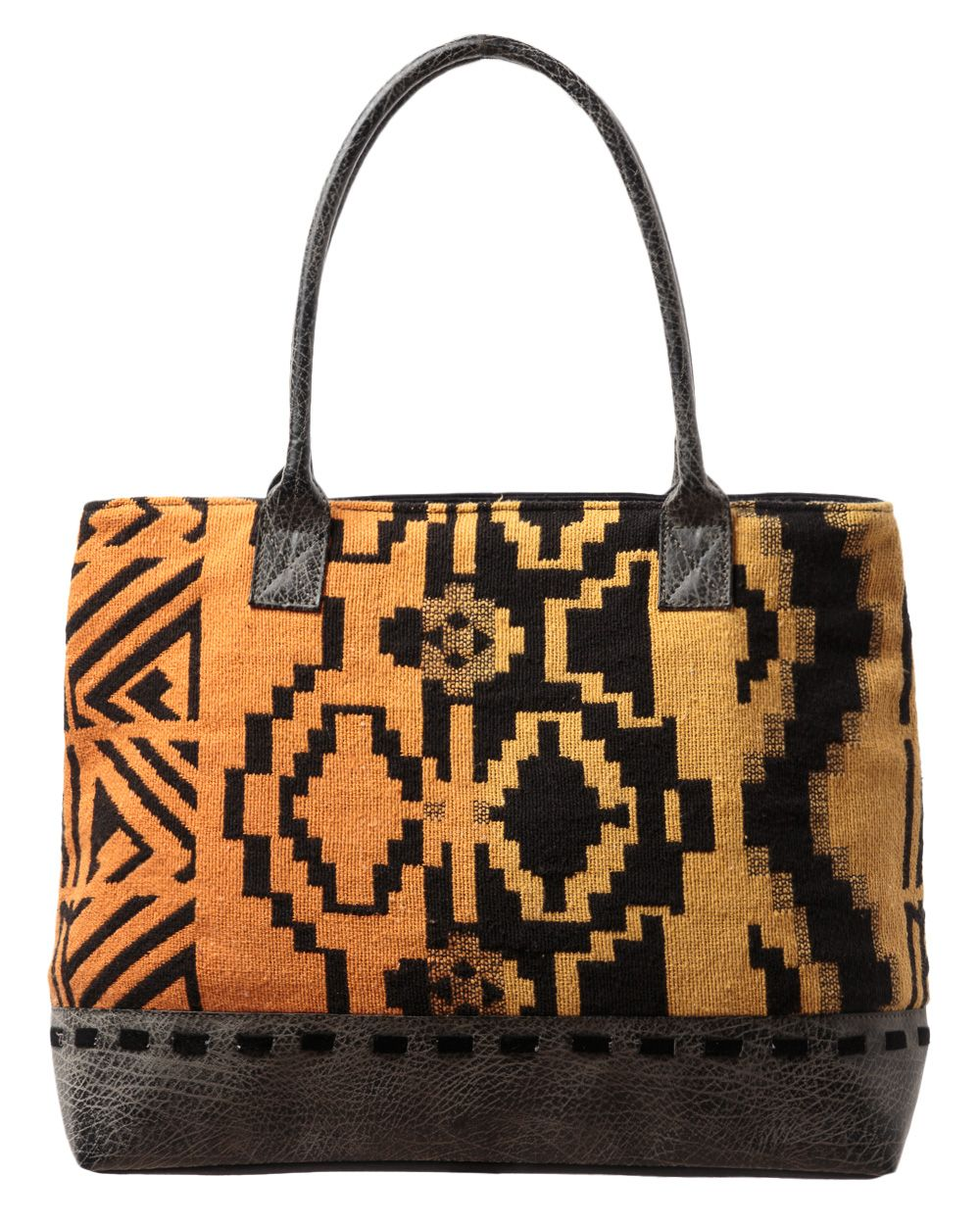 Aztec canvas bag