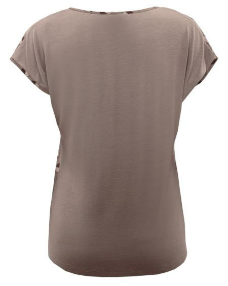 East Silk front fola t-shirt