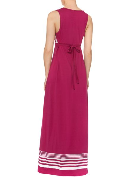 Dickins & Jones Maxi dress stripe and colour block