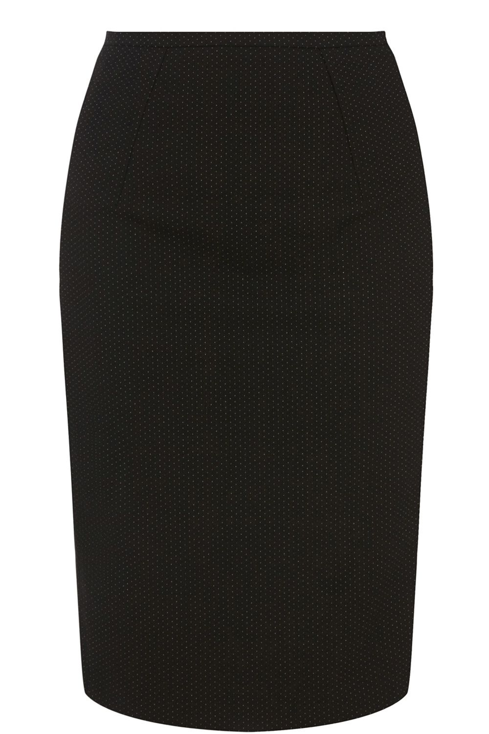 Kelly spot pencil skirt