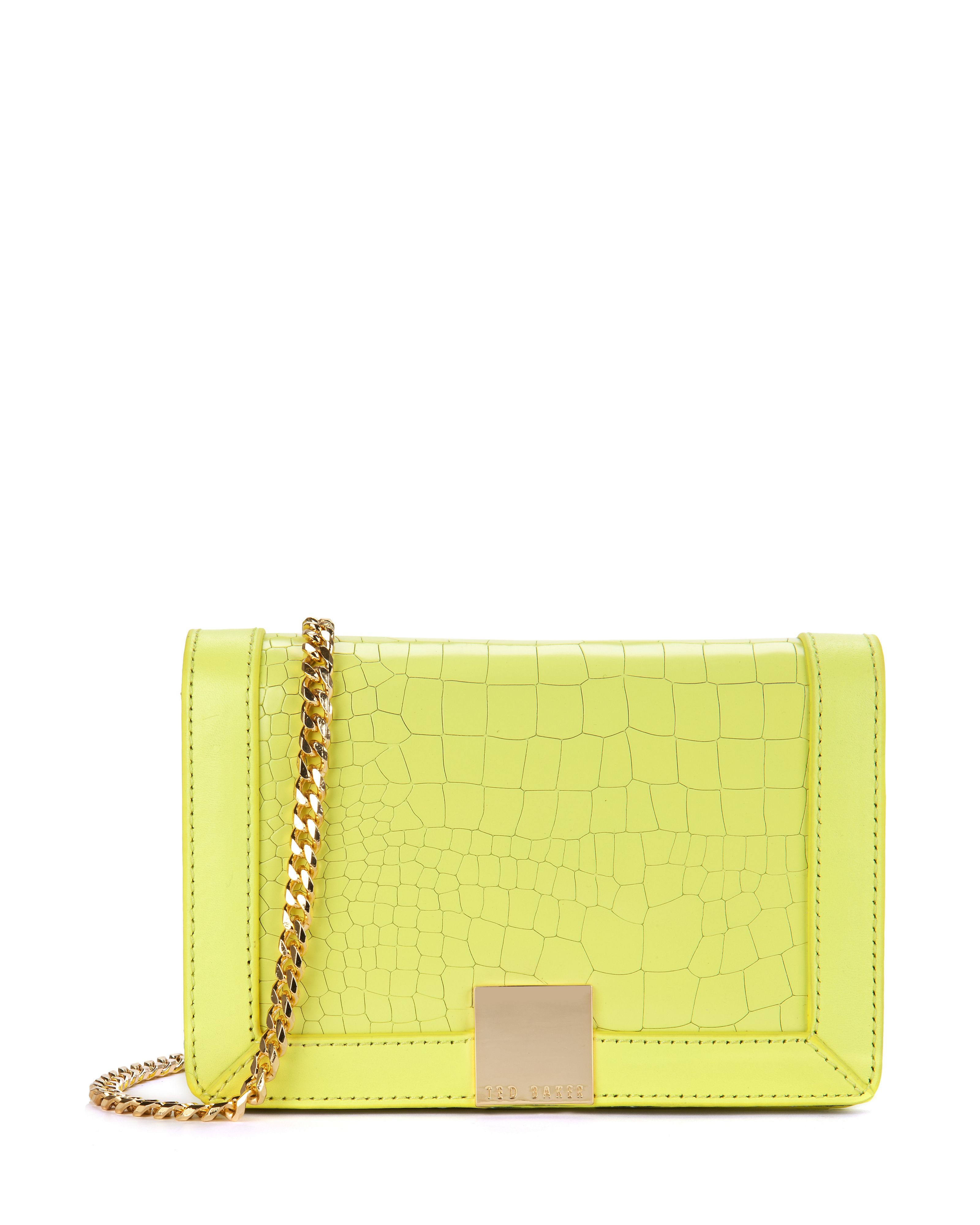 Ruelles mini exotic clutch bag