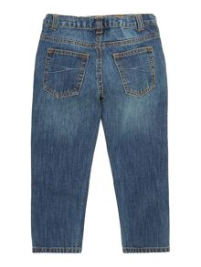 Boys mid wash denim jeans