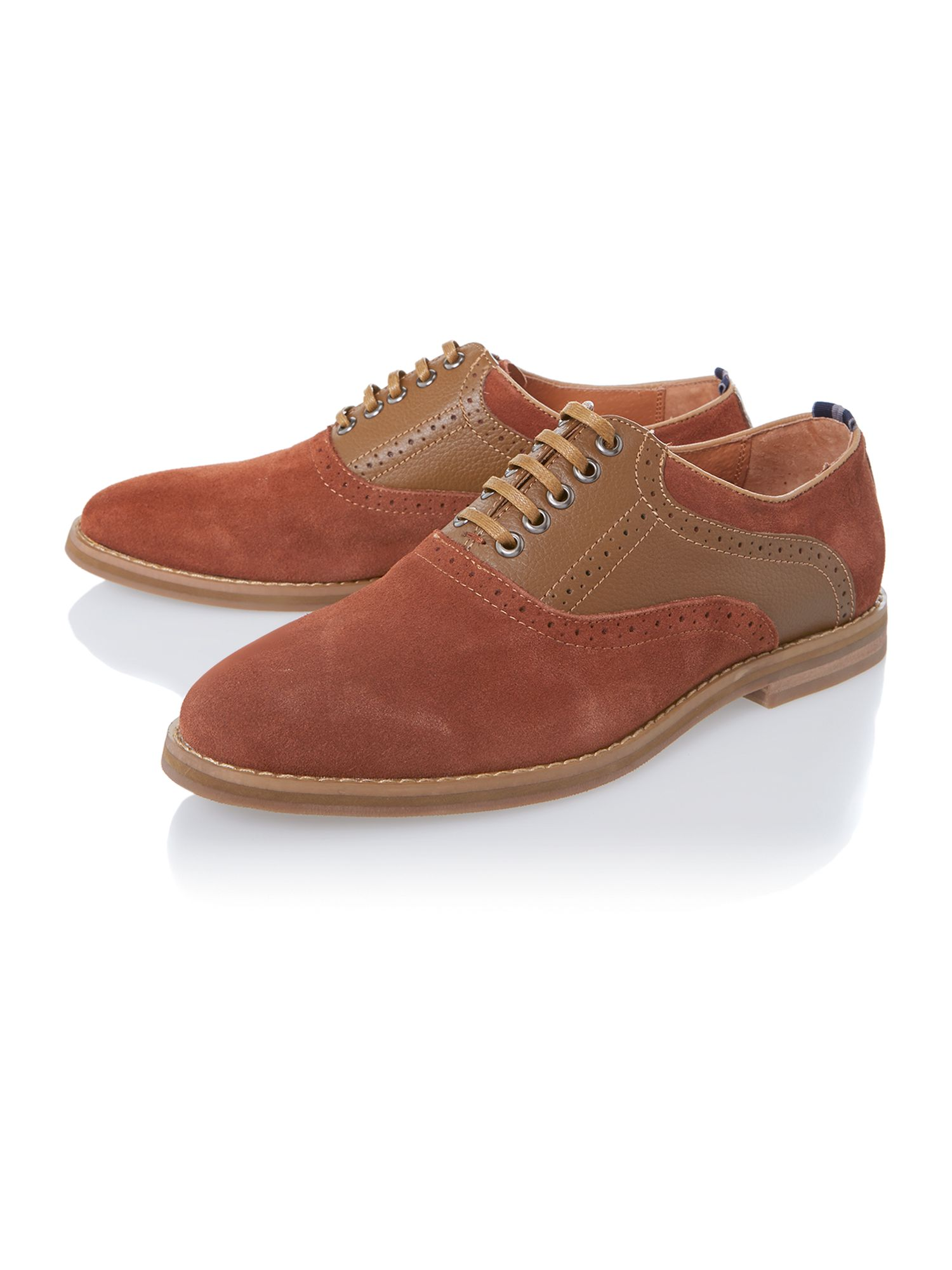 Nesbitt saddle oxford shoes