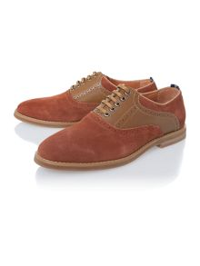 Peter Werth Nesbitt saddle oxford shoes