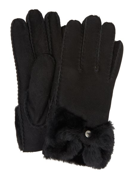 UGG Classic bow shorty glove