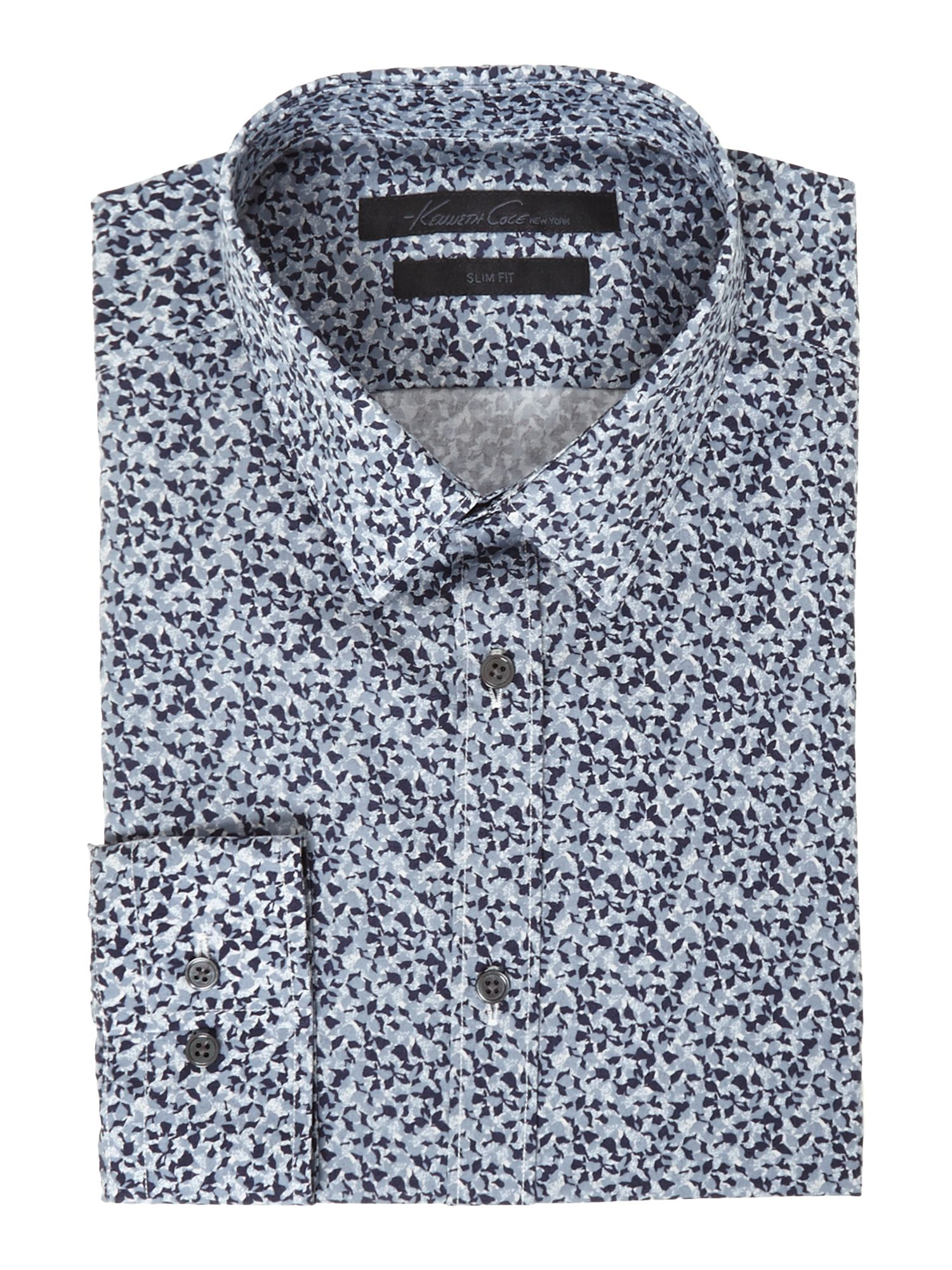 Bogart mini camoflague print shirt