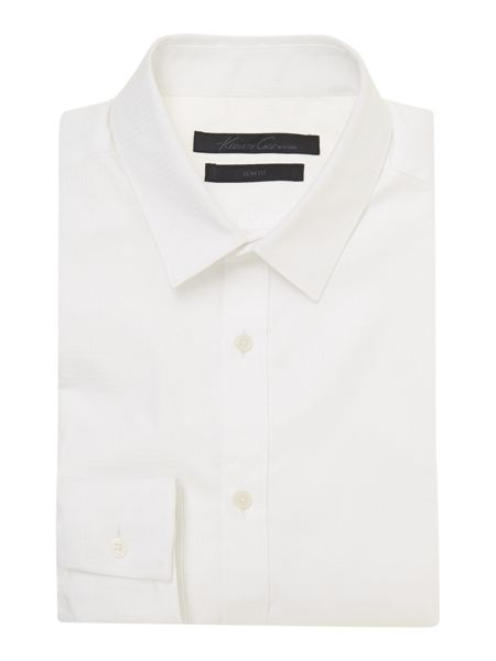 Kenneth Cole Murdock textured geo jacquard shirt